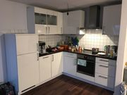 Nolte Küche Hochglanz weiß L-Form