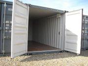 Lager-Garage-Container-Archiv - verschiedene Größen mit Licht