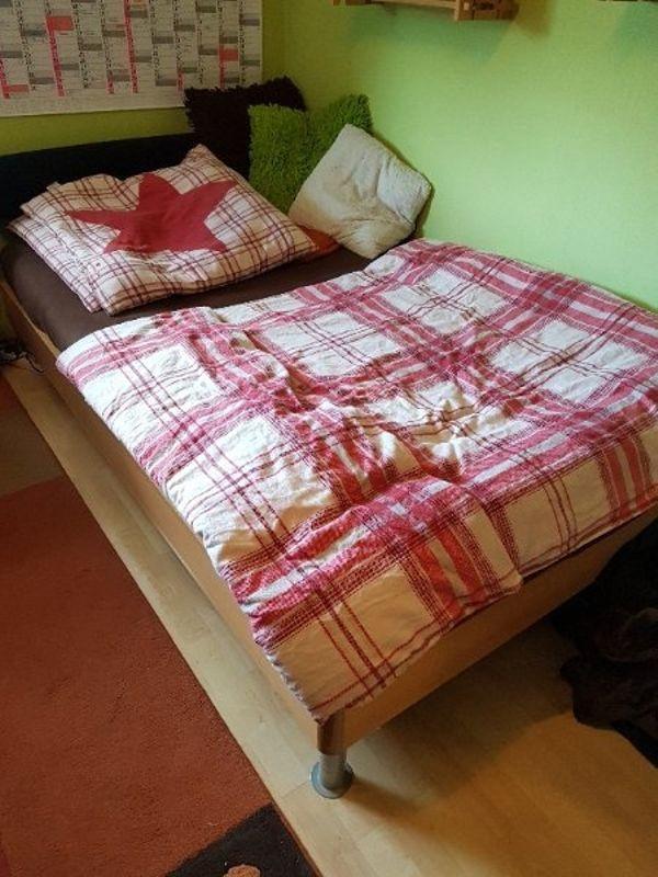 verkaufe bett in ankauf und verkauf anzeigen finde den billiger preis. Black Bedroom Furniture Sets. Home Design Ideas