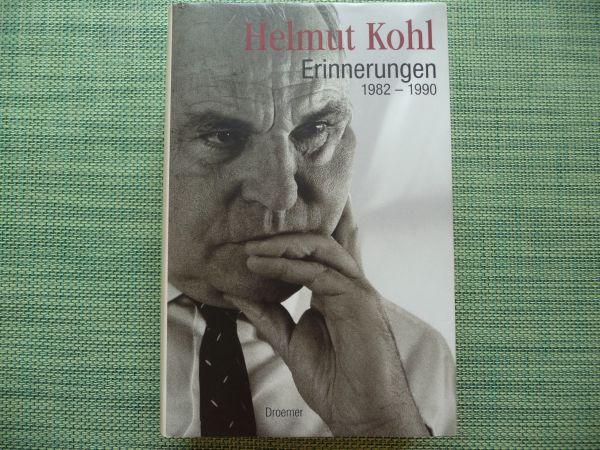 """Erinnerungen Helmut Kohl handsigniert - Hamburg Barmbek-süd - Verkaufe das Buch """"Erinnerungen 1982 - 1990"""" von Helmut Kohl, gebundene Ausgabe des Droemer Verlags, handsigniert am 22.11.2005, garantiert ungelesen, sehr guter Zustand, wie neuPrivatverkauf, keine Rücknahme - Hamburg Barmbek-süd"""