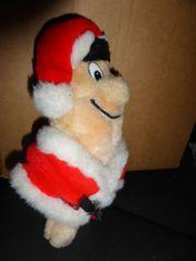 Weihnachtsmann Stofffigur Plüschfigur