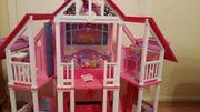 Barbie Wohnhaus/Villa/