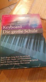 große Notensammlung klavier und keyboard