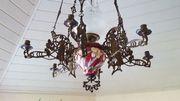 Antike Lampe mit