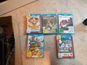 WiiU 32GB und 5Spiele komplett
