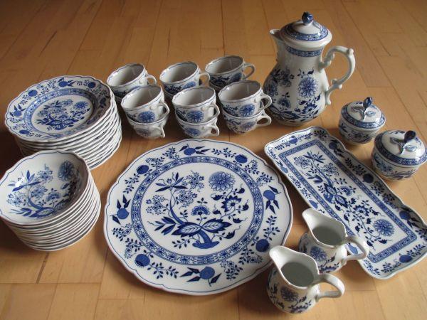 Hutschenreuther Blau Zwiebelmuster - » Geschirr und Besteck