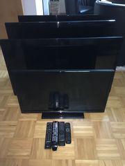 4x Fernseher