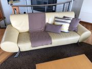 Ledersofa- -couch 4-Sitzer von Rolf