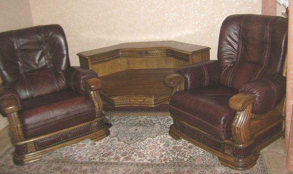 Couchgarnitur Ledercouchgarnitur In Henschtal Polster Sessel