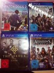 Diverse PS4 Spiele