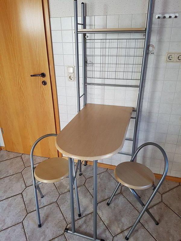 Küchen Tresen mit 2 Hocker in Bogel - Küchenzeilen, Anbauküchen ...