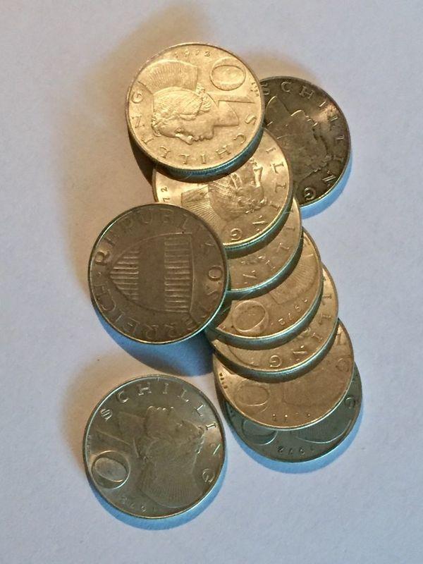Kaufe Zehn Schilling Silber Münzen 10er In Hörbranz Kaufen Und