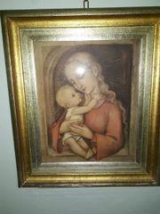 Antikes Hummel-Bild -