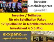 Investor gesucht für