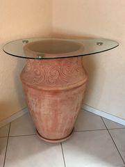 Terracotta Topf Blumentopf XXL 2