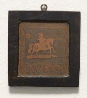 Antikes Kupferbild