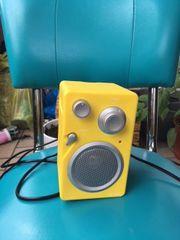 Gelbes Küchenradio (gebraucht!!!)