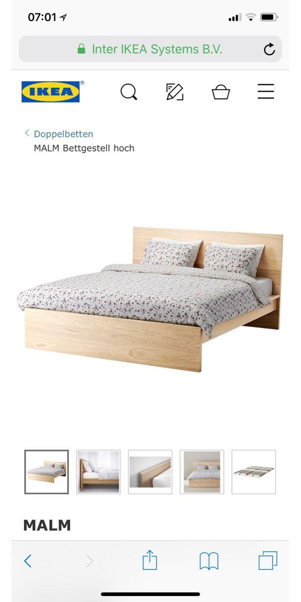 ikea doppelbett bett ankauf und verkauf anzeigen billiger preis. Black Bedroom Furniture Sets. Home Design Ideas