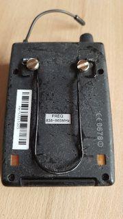 In Ear Taschenempfänger-Gehäuse-Deckel