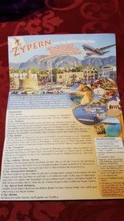 Reise nach Zypern