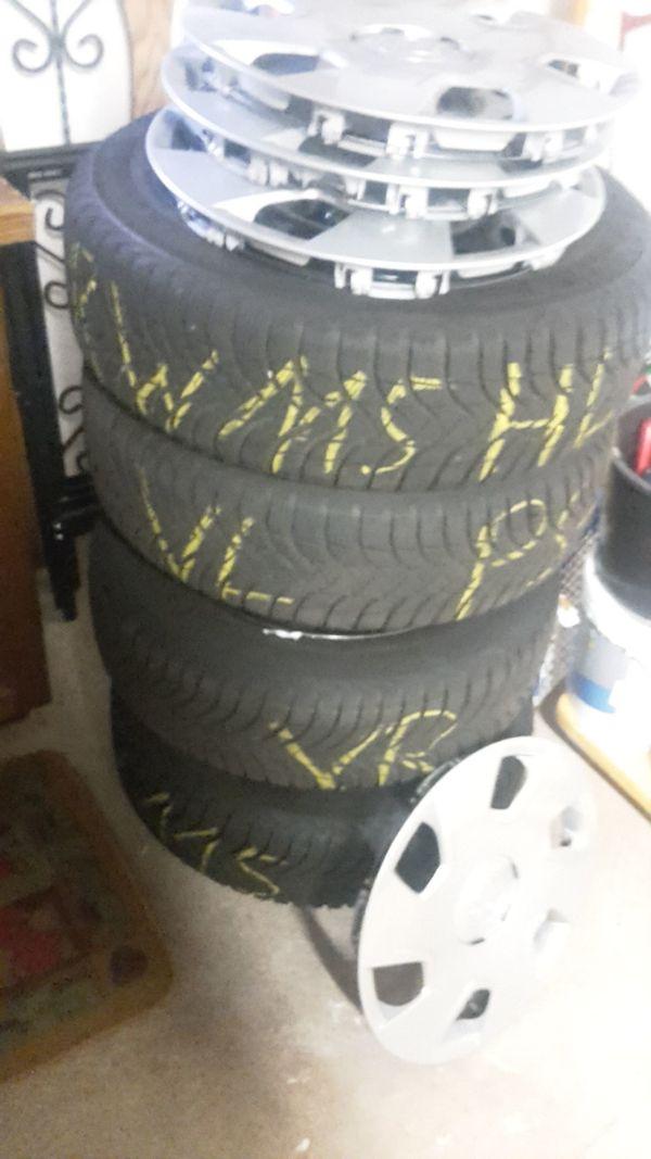 Michellin Winterreifen - Fischbach - 4x 185/60 R15 Michelin. Ca 4 Monate gefahren,für faire Preisvorschläge offen. - Fischbach