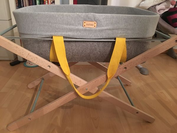 Woolnest babybett beistellbett stubenwagen in eichenau wiegen