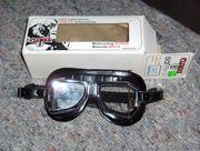 Climax Motorradbrille 513-S Negra neuwertig