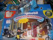 2x Playmobil Polizei Adventskalender f