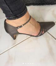 Sandaletten silber von