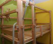 Kinderhochbett Abenteuerbett Woodland