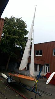 Segelboot Segel Jolle