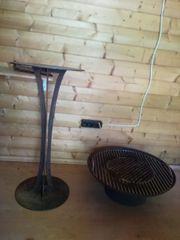 Feuerschale mit Stahlständer