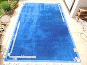 Gabbeh Teppich blau