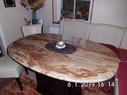 Esstisch Sockeltisch Säulentisch echt Marmor