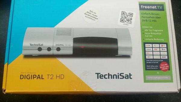 Freenet TV -TechniSat Digital T2 HD Receiver mit Vertrag bis 2019