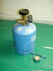 Verkaufe zwei Camping-Gasflasche von GAZ