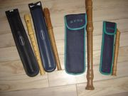Mehrere Flöten von -