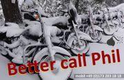 Motorradstellplatz - 19 Monat - trocken und