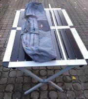 1 gebrauchter Alu - Rolltisch von