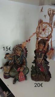 Indianer Figuren beide