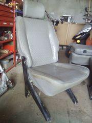 Sitz T4 Leder Klappsitz 2