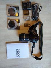 DSLR Nikon D5000 mit Zubehör