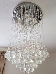 kristal lampe
