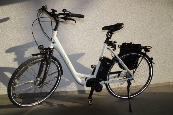 Neuwertiges E Bike Mittelmotor 7 Gang Nexusschaltung 28 55cm
