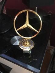 Mercedes Kühlerstern Gold