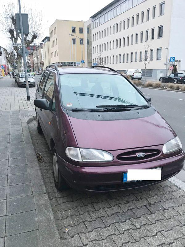 Ford Galaxy - Frankenthal - Ford, Galaxy, Van/Kleinbus, Diesel, 66 kW, 330000 km, EZ 06/1996, Schaltgetriebe, Nichtraucherfahrzeug. Verkauft wird ein Ford Galaxy, wie oben beschrieben.TÜV bis 08/19. Der Ford Galaxy weist folgende Mängel auf: Tankanzeige defekt, Verkl - Frankenthal
