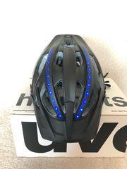 UVEX LED-Fahrradhelm anthrazit matt