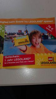 Gutschein 1 Jahr Legoland