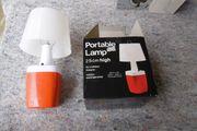 Portable Lamb Tischlampe 70er Jahre