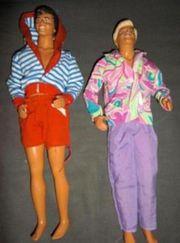 zwei Barbie - Ken s